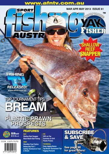 Sports fishing australia magazine sf61 mar apr may 2013 for Sport fishing magazine