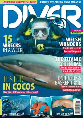 DIVER issue MARCH 2013
