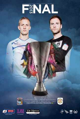 CCFC Official Programmes issue 22 v CREWE ALEXANDA (12-13)