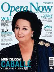 Opera Now issue March 2013