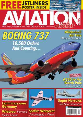 Aviation News issue March 2013
