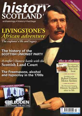 History Scotland issue March-April 2013
