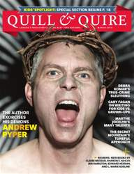 Quill & Quire issue March 2013