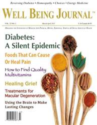Well Being Journal issue March-April 2013