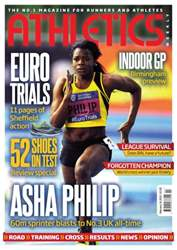 Athletics Weekly issue AW February 14 2013