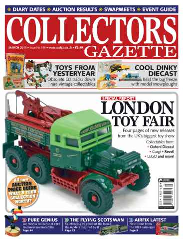 Collectors Gazette issue March 2013