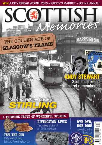 Scottish Memories issue March 2013