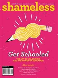 Shameless Magazine issue Winter 2012