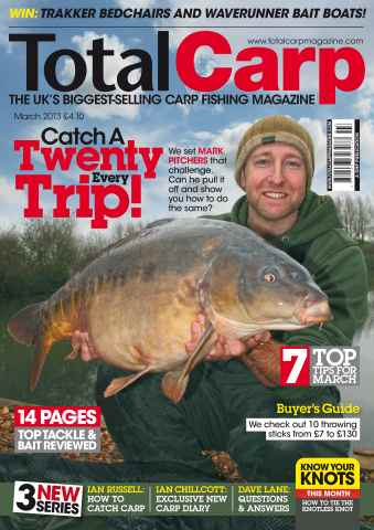 Total Carp issue March 2013