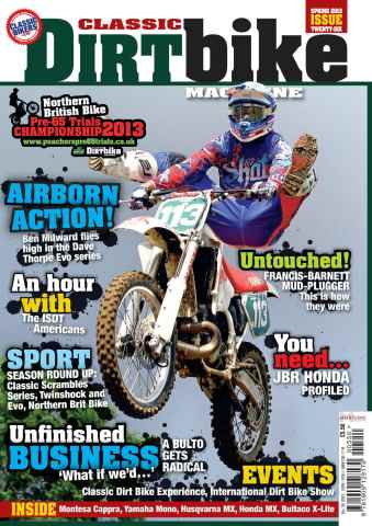 Classic Dirt Bike issue Issue #26 CDB