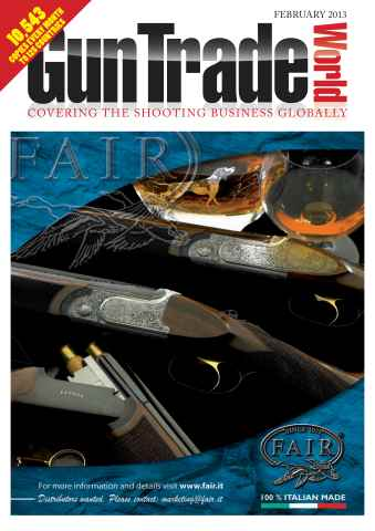 Gun Trade World issue February 2013
