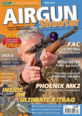 Airgun Shooter issue April 2013