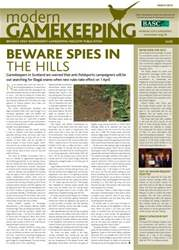 Modern Gamekeeping issue MARCH 2013