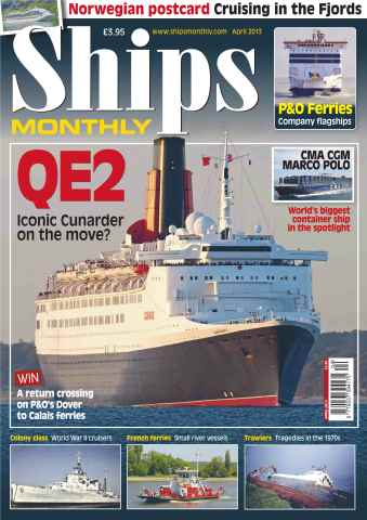 Ships Monthly issue Queen Elizabeth II April 2013