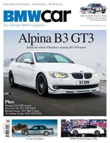BMW Car issue March 2013