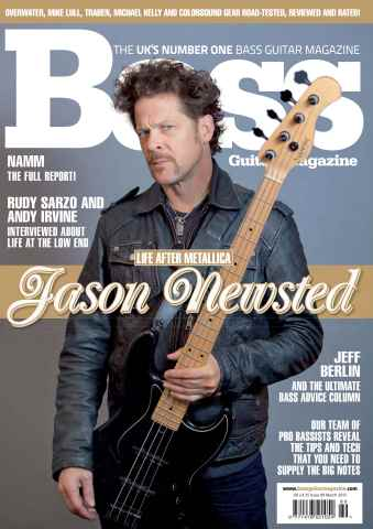 Bass Guitar issue 89 March 2013