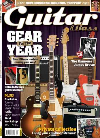 Guitar & Bass Magazine issue April 2013 Gear Year