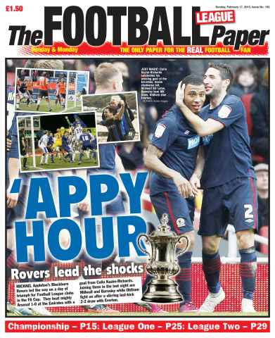 The Football League Paper issue 17th February 2013