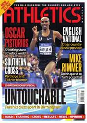 Athletics Weekly issue AW Februay 21 2013