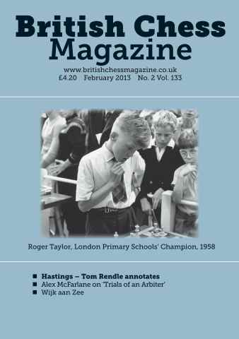 British Chess Magazine issue February 2013