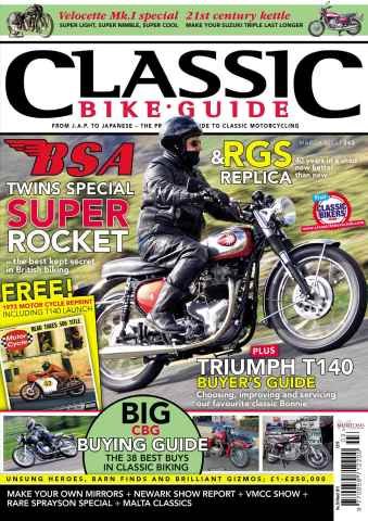 Classic Bike Guide issue March 2013