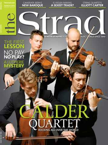 The Strad issue March 2013