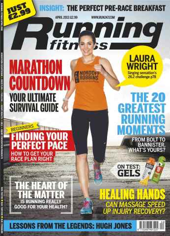Running Fitness issue Race Planning April 2013