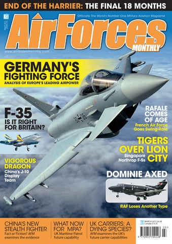 AirForces Monthly issue March 2011