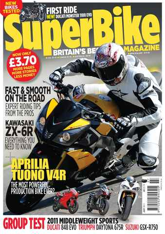 Superbike Magazine issue July 2011