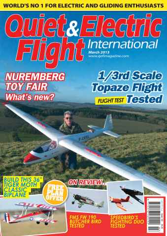 Quiet & Electric Flight Inter issue March 2013
