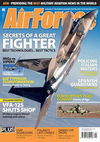 AirForces Monthly issue January 2011