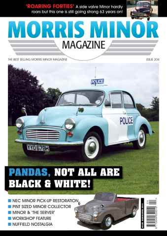 Morris Minor Magazine issue 204