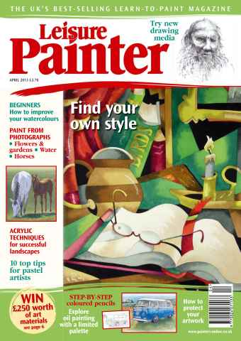 Leisure Painter issue April 2013