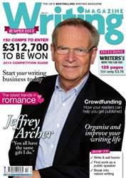 Writing Magazine issue Writing Magazine April 2013