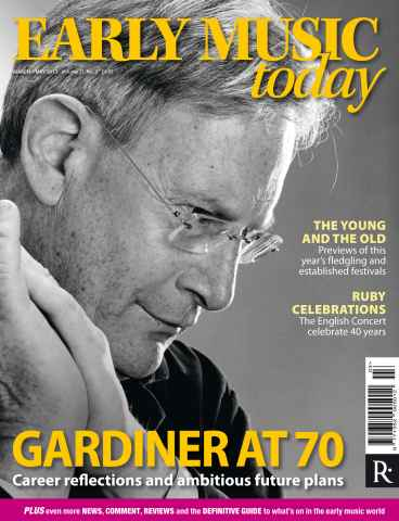 Early Music Today issue March-May 2013