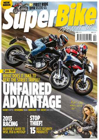 Superbike Magazine issue April 2013