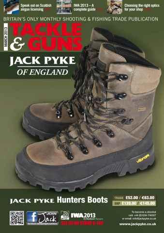 Tackle & Guns issue Tackle & Guns March 2013