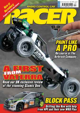 Radio Control Car Racer issue April 13