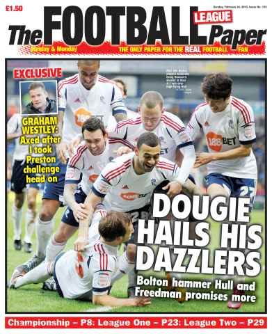 The Football League Paper issue 24th February 2013