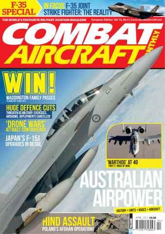 Combat Aircraft issue Vol 14 No 4