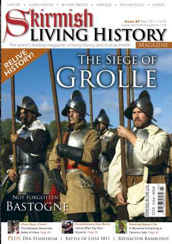 Skirmish Living History issue Issue 87