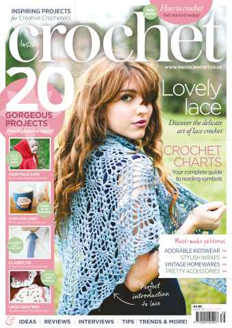 Inside Crochet issue March 2013 Issue 39