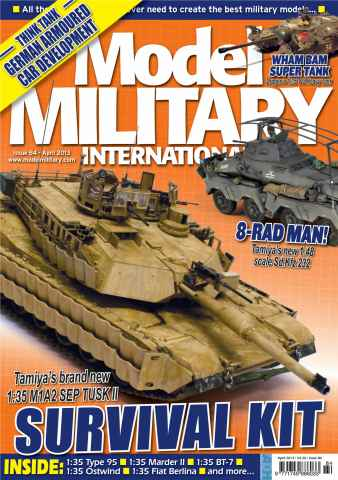 Model Military International issue 84