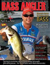 BASS ANGLER MAGAZINE issue Volume 22 Issue 1
