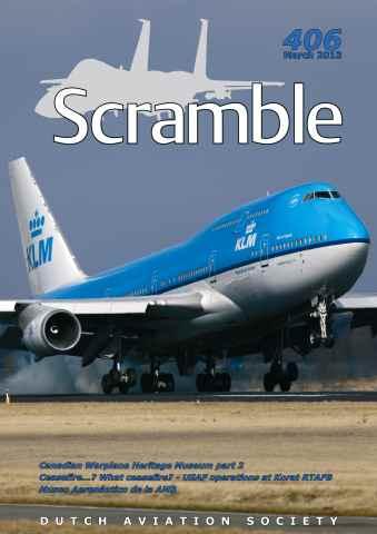 Scramble Magazine issue 406 - March 2013