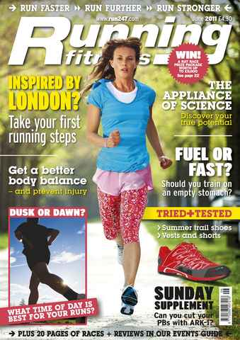 Running Fitness issue Come On - Get Started June 2011