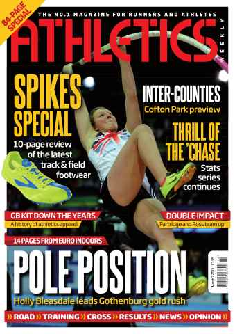 Athletics Weekly issue AW March 7 2013