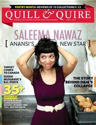 Quill & Quire issue APRIL 2013