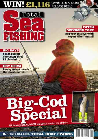 Total Sea Fishing issue April 2013