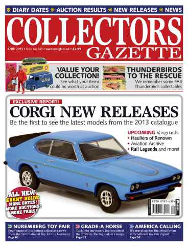 Collectors Gazette issue April 2013